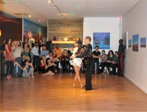 Getting ready to impress the audience! Photo credit: Salsa Explosion Dance Company